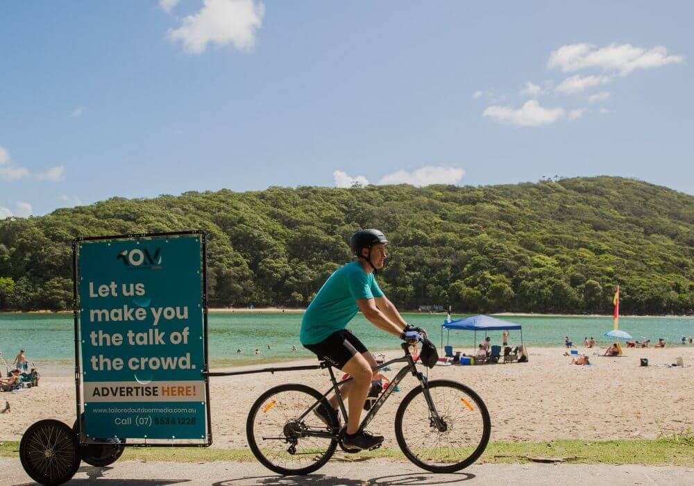 Turn Heads with Bike Billboards
