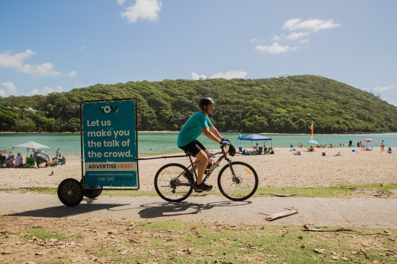 bike advertising gold coast